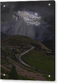 Coming Home To God Acrylic Print by Thu Nguyen