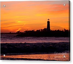 Acrylic Print featuring the photograph Coming Home2 by Theresa Ramos-DuVon