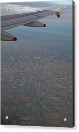 Coming In To Land Acrylic Print