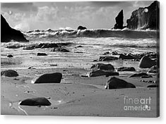 Coming In Waves Acrylic Print