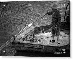 Acrylic Print featuring the photograph Coming Into Port by Pete Hellmann