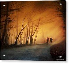 Coming Together Acrylic Print by Pedro L Gili