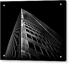 Acrylic Print featuring the photograph Commerce Court West 2 by Brian Carson