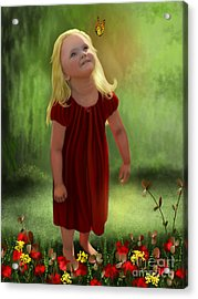 Commissioned Portrait Acrylic Print by Sena Wilson
