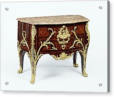 Commode Charles Cressent, French, 1685 - 1768 Acrylic Print