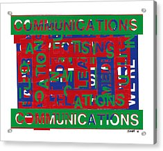Communications Breakdown Acrylic Print by Agustin Goba