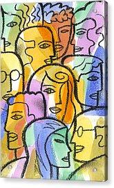 Community Acrylic Print