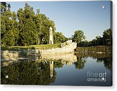 Como Lake Park Acrylic Print by Jim Lepard