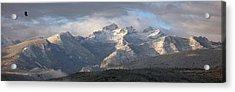 Como Peaks Montana Acrylic Print by Joseph J Stevens