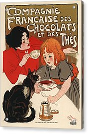 Compangnie Francaise Des Chocolats Et Des Thes Acrylic Print by Gianfranco Weiss