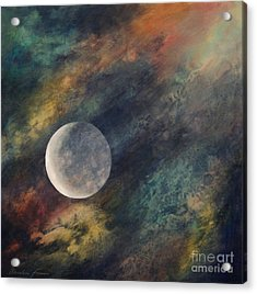 Companion Moon  Acrylic Print by Ursula Freer
