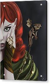 Companions Acrylic Print by Kate Black