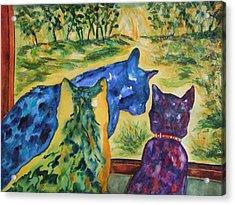 Companions Acrylic Print