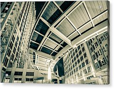 Acrylic Print featuring the photograph Complex Architecture by Alex Grichenko