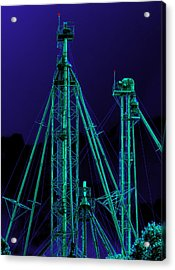Complex Glow Acrylic Print by Wendy J St Christopher