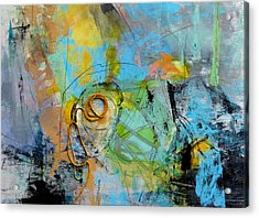 Complex Acrylic Print by Katie Black