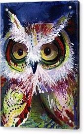 Complimentary Owl Acrylic Print