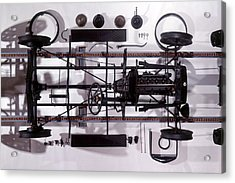 Components Of Ford Model T Acrylic Print by Dorling Kindersley/uig