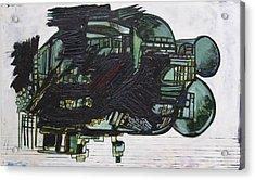 Composition 10 Canvas Acrylic Print