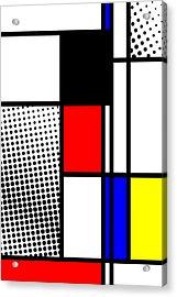Composition 100 Acrylic Print