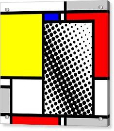 Composition 116 Acrylic Print