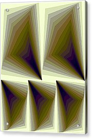 Composition 166 Acrylic Print by Terry Reynoldson
