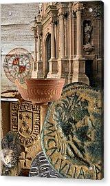 Composition For Poster Xiv Jornadas De Estudios Calagurritanos Acrylic Print by RicardMN Photography