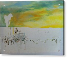 Composition Acrylic Print