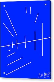 Composition-p2 Acrylic Print by Anand Swaroop Manchiraju