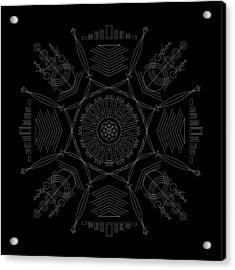 Compression Inverse Acrylic Print