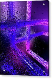 Computer Virus Acrylic Print by Paul Wootton/science Photo Library