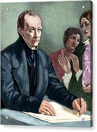 Comte, Auguste (montpellier Acrylic Print by Prisma Archivo