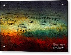 Acrylic Print featuring the digital art Con Fuoco by Lon Chaffin