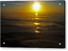 Conanicut Island And Narragansett Bay Sunrise II Acrylic Print