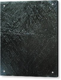 Concentric Black Diamond Pattern Acrylic Print by Kazuya Akimoto