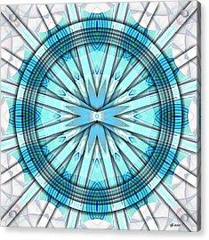 Concentric Eccentric 3 Acrylic Print by Brian Johnson