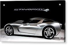 Concept Stingray Acrylic Print