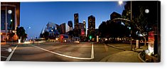 Concert Hall Lit Up At Night, Walt Acrylic Print by Panoramic Images