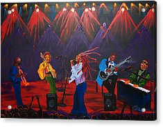 Concert Of All Concerts Acrylic Print by Portland Art Creations