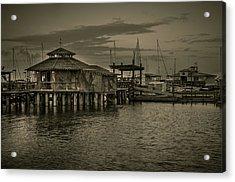 Conch House Marina Acrylic Print by Mario Celzner