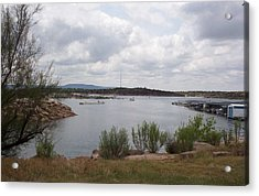 Acrylic Print featuring the photograph Conchas Dam by Sheri Keith
