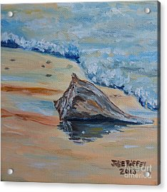 Conched Out Acrylic Print by Julie Brugh Riffey