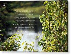 Concience Acrylic Print by Kathy J Snow