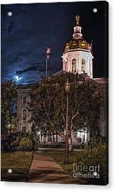 Concord By Moonlight Acrylic Print