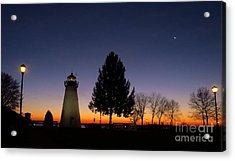 Concord Point Lighthouse Before Dawn Acrylic Print