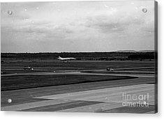 Concorde Landing Acrylic Print