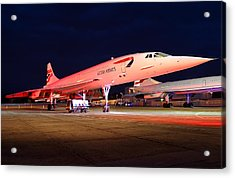 Concorde On Stand Acrylic Print