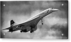Concorde Supersonic Transport S S T Acrylic Print