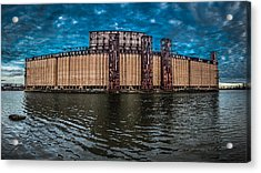 Concrete Central N1 Acrylic Print