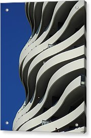 Concrete Waves Acrylic Print
